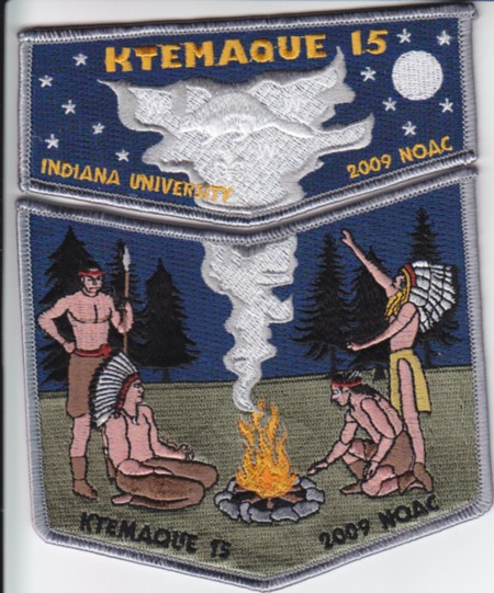 Ktemaque Lodge #15 2009 NOAC Delegate Set S44 X17