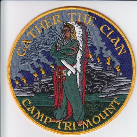 Half Moon Lodge #28 or Camp Tri-Mount Jacket Patch?