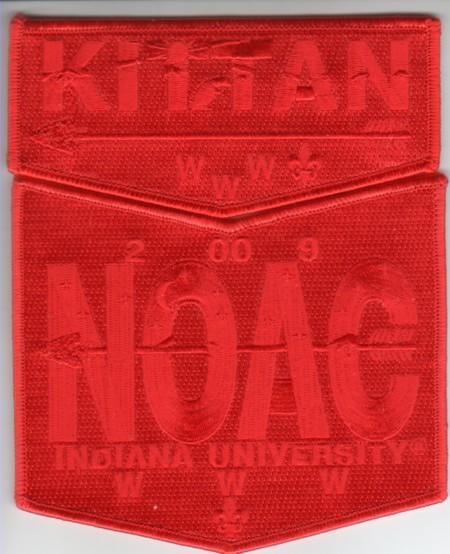 Kittan Lodge #364 2009 NOAC Red Ghost S7 X5