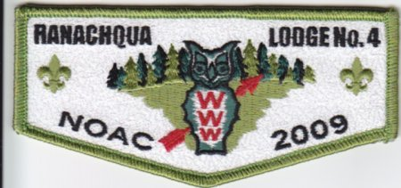 Ranachqua Lodge #4 2009 NOAC S33