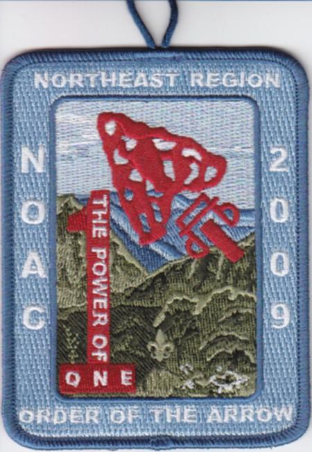 NOAC 2009 Northeast Region Patch