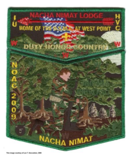 Nacha Nimat Lodge #86 2009 NOAC Trader S38 X18