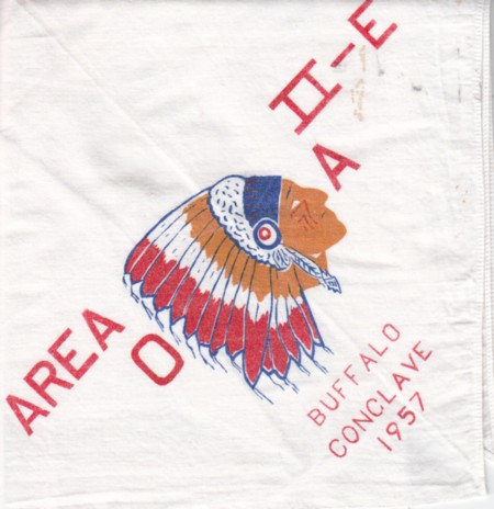 Area 2-E 1957 Neckerchief