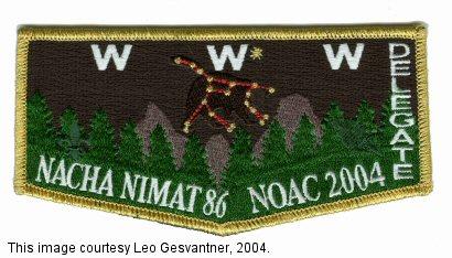Nacha Nimat Lodge 2004 NOAC S17