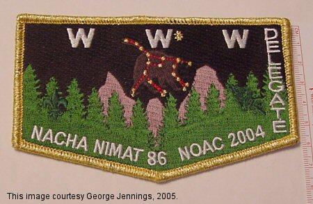 Nacha Nimat Lodge #86 2004 NOAC prototype YS3
