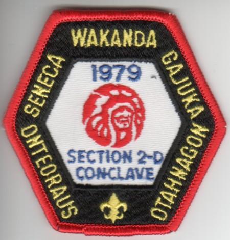 Section NE-2D 1979 Pocket Patch