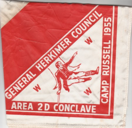 Area 2-D 1955 Neckerchief