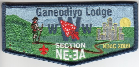 Ganeodiyo Lodge #417 Section NE-3A 2009 NOAC Flap S28
