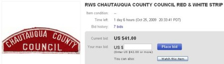 CHAUTAUQUA COUNTY RWS
