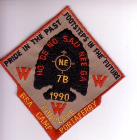 Section NE-7B 1990 Pocket Patch
