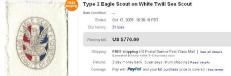 Sea Scout Eagle