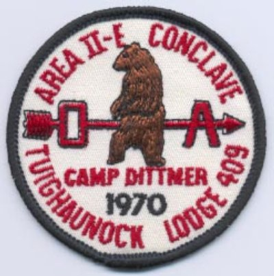 Area 2-E 1970 Pocket Patch