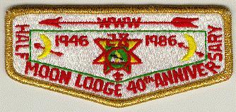 Half Moon Lodge #28 40th Anniversary S6