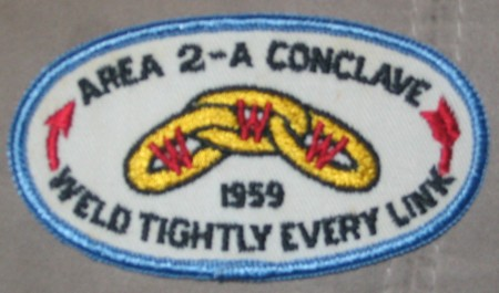 Area 2-A 1959 Pocket Patch