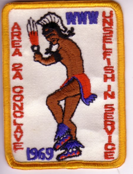 Area 2-A 1969 Pocket Patch