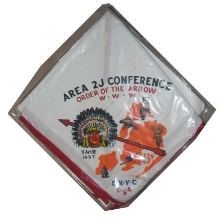 Area 2-J 1957 Conclave Neckerchief