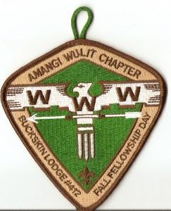 Buckskin Lodge #412 Amngi Wulit Chapter Fall Fellowship Day eX2009