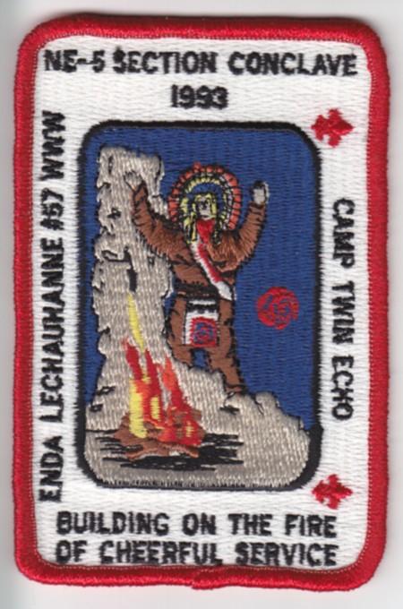 Section NE-5 1993 Pocket Patch