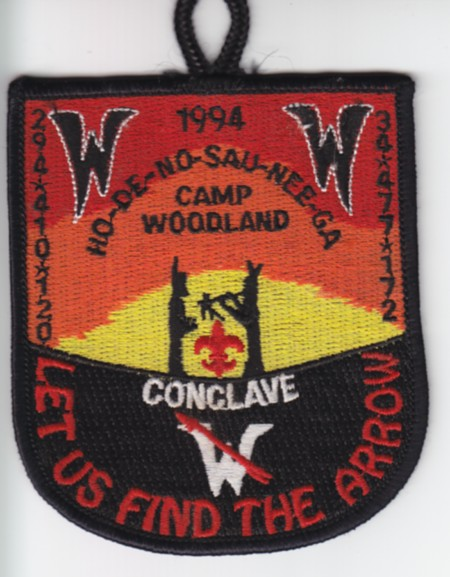 Section NE-7B 1994 Pocket Patch