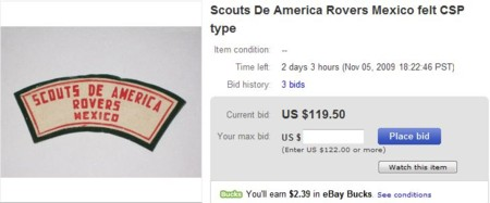 'Scouts De America Rovers Mexico