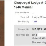 Chappegat Lodge #15 1946 Manual