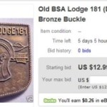 It's Back – Nischa Nimat Lodge #181 Belt Buckle