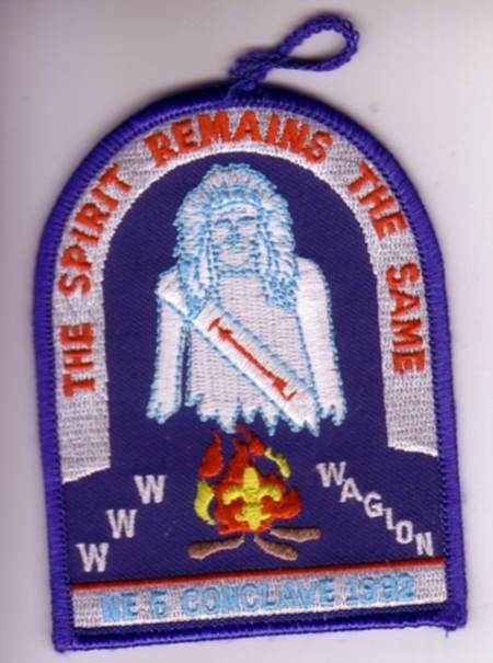 Section NE-5 1992 Pocket Patch