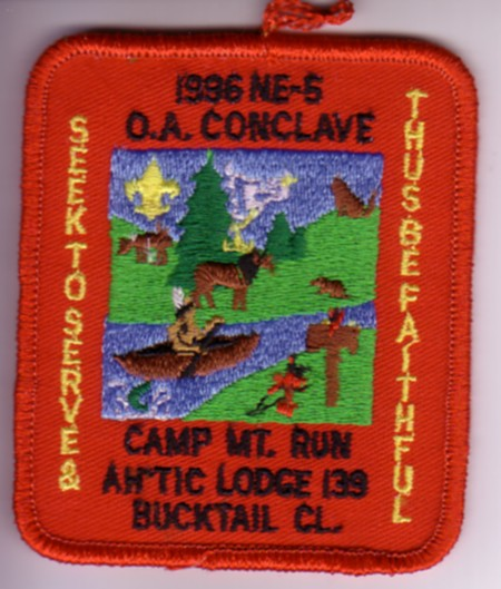 Section NE-5 1996 Pocket Patch