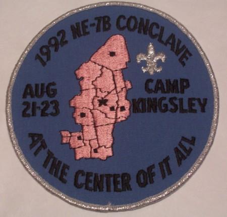 Section NE-7B 1992 Jacket Patch