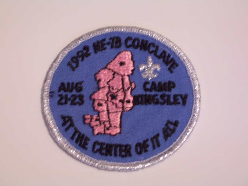Section NE-7B 1992 Pocket Patch