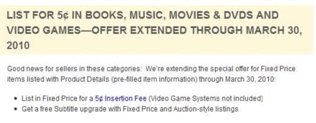 ebay offer