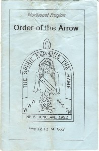 1992 NE-5 Conclave Pamphlet