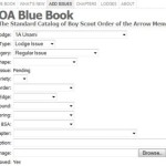 Interactive Blue Book
