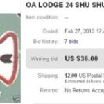 Shu Shu Gah Lodge Chapter Issue Needs