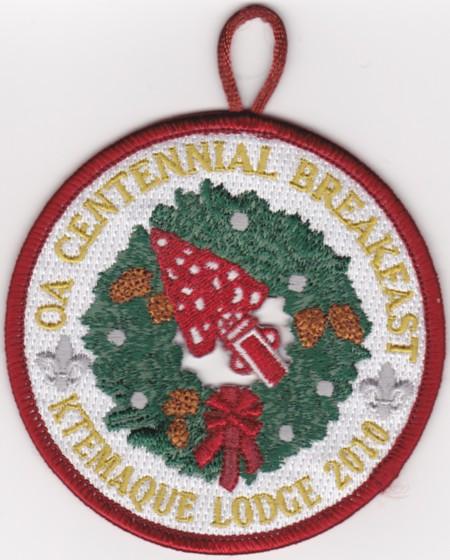 Ktemaque Lodge #15 OA Centennial Breakfast eR2010
