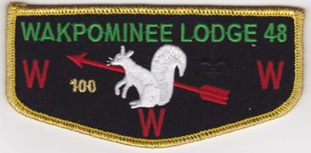 Kittan Lodge #364 HS3 - Wakpominee Lodge #48 HS1