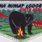 Look Back – Nacha Nimat Lodge #86 100th Anniversary Numbered Flap S42