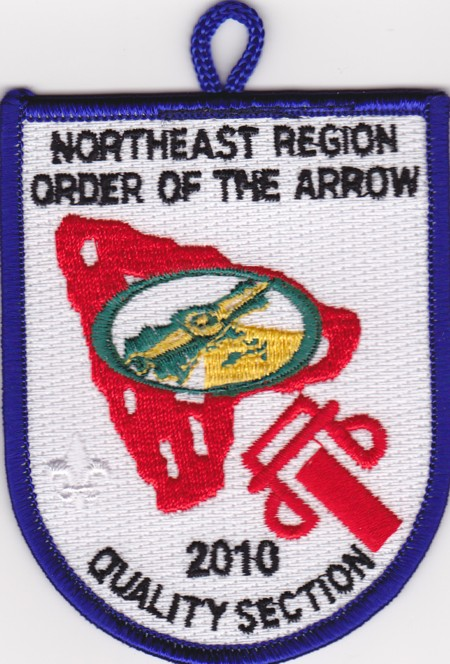 Northeast Region OA 2010 Quality Section Patch