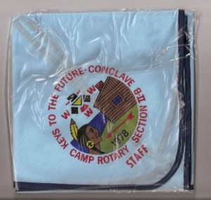 Section NE-2B 1978 Staff Neckerchief