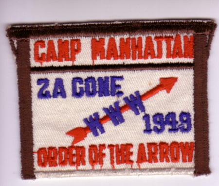 Area 2-A 1949 Pocket Patch