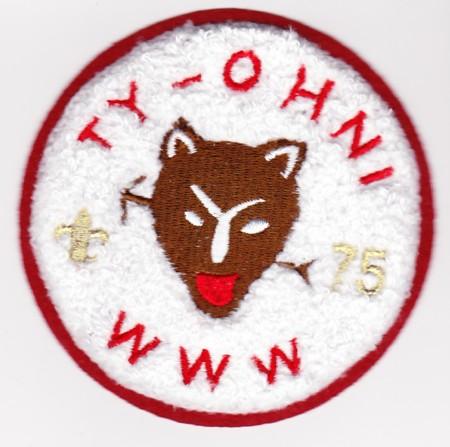 Ty-Ohni Lodge #95 Private Issue Chenille ZC4