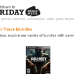 Amazon pre-Black Friday Sale on Video Games