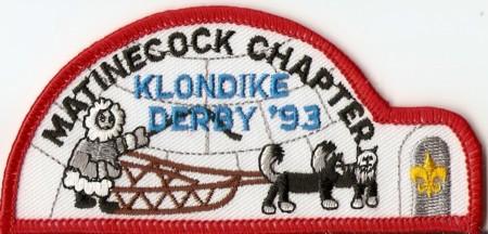 Buckskin Lodge #412 Matinecock Chapter Klondike Derby eX1993