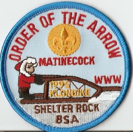 Buckskin Lodge #412 Matinecock Chapter Klondike Derby eR1995