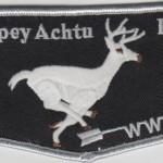 Tschipey Achtu Lodge #397 Twill Left Flap F1b