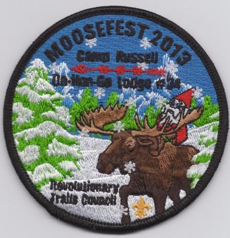 Ga Hon Ga Lodge #34 2013 Moose Fest eR2013