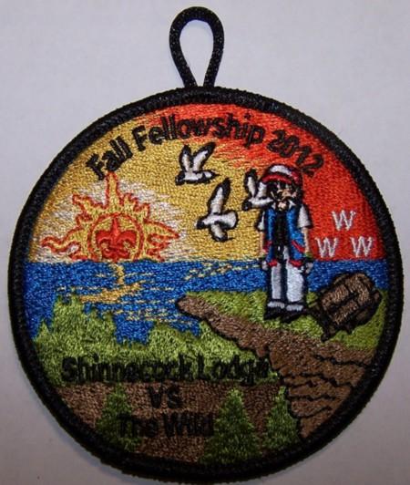 Shinnecock Lodge #360 Fall Fellowship Patch eR2012