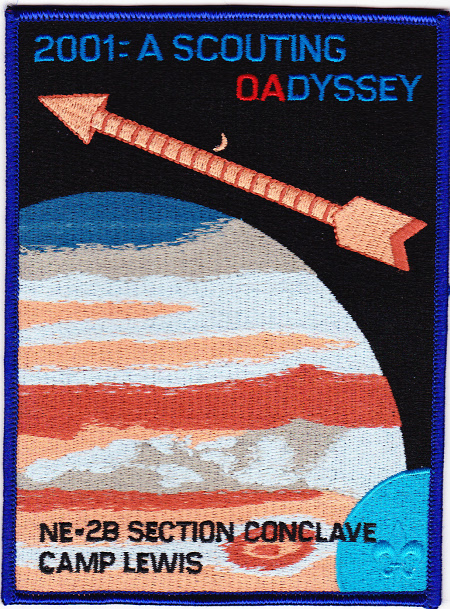 Section NE-2B 2001 Conclave Jacket Patch