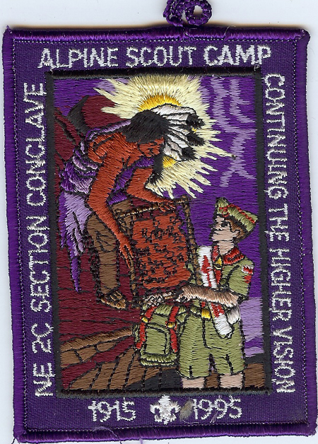 1995 Section NE-2C Purple Pocket Patch