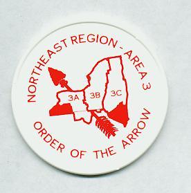 NE-3A 3B 1995 Area 3 Plastic Disc